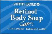 Vitamin World Retinol Body Soap - 2 Bars
