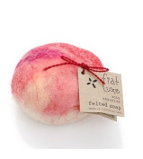 Rose Geranium Felted Soap 1 bar by Fiat Luxe