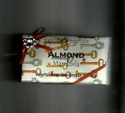 Alchimia Ladybug or Rhinestone Almond Handmade 310ml Soap Bar From Italy, Paper Wrappings vary
