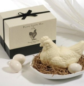Gianna Rose Pretty Little Hen Soap with Soap Eggs and Soap Dish
