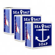 Swedish Dream Sea Salt Soap (3 Pack) 130mleach soap set by Kala