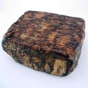 Pack of TEN Madina Raw Black Soap 100% Vegetable Base Imported from Ghana