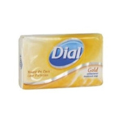 Antibacterial Deodorant Bar Soap Individually Wrapped in Gold
