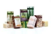 Top 6 Maithong Natural Herbal Soap (100g Each); Lemongrass, Turmeric, Aloe Vera, Mangosteen, Green Tea, Jasmine Rice Product of Thailand