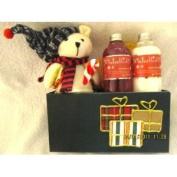 Christmas Bear Shower Gel and Lotion Set