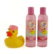 New York Yankees Game Ready Girls Bath Set, 8 Fluid Ounce