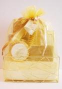 Crystal Waters Spa Vanilla Amber Bath Gift Set