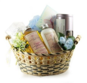 Castle Baths - Get Well Passion Gift Basket - Lavender Rose Sandalwood