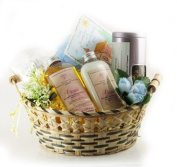 Castle Baths - Send Thanks Gift Basket - Lavender Rose Sandalwood