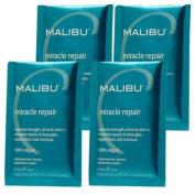 Malibu C Miracle Repair Power Protein Builder - 4 Packets