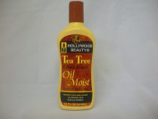 Holly Wood Beauty Tea Tree Oil Moist for Dry, Itchy, & Scalp W/natural Oils, Aloe & Vitamin E 350ml