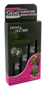 Smooth N Shine Olive & Tea Tree Quench & Repair Potion 3's 170ml