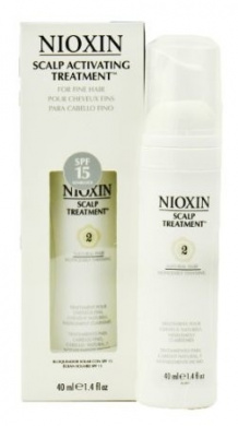 Nioxin System 2 Scalp Treatment - SPF 15 - 40ml