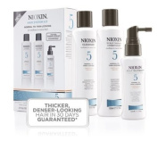 Nioxin System 5 Kit Maintenance Cleanser 300ml Treatment 100ml Therapy 150ml