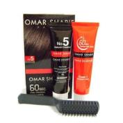 Omar Sharif 60sec Colour Cream #5 Natural Chestnut