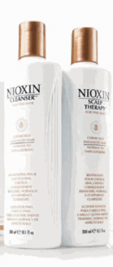 Nioxin System 3 Cleanser & Scalp Terapy Conditioner Treated Hair Set Duo 1000ml