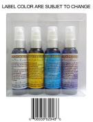 Hair Treatment Kit 4 Bottles of Pure 60ml Emu, Grape Seed, Coconut, Neem Oil