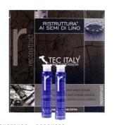 Tec Italy Recunstruct Hair Treatment Al Semi Di Lino 12 Count Ampolletas