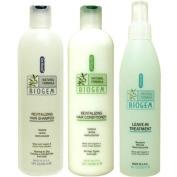 Dr Ross' BIOGEM Shampoo 350ml /Conditioner 350ml/Treatment 240ml- Normal to Dry