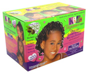 Africas Best Kids Organics Conditioning No Lye Relaxer System Regular (3-Pack) with Free Nail File