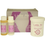 Laila Ali U-GS-1679 Super Strength Conditioning Hair Relaxer Kit by Laila Ali for Unisex - 4 Pc Set 8oz Hair Relaxer 1.5oz Conditioning Neutralizing Shampoo 1.5oz After Relaxer Conditioner Gloves