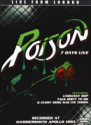 Poison - Seven Days Live [Region 2]