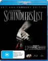 Schindler's List (20th Anniversary Edition)   [2 Discs] [Region B] [Blu-ray]