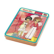 Retro Chic Magnetic Figures