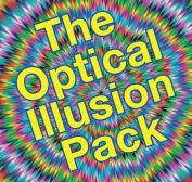 The Optical Illusion Pack [With Spirals, Shape Model and 3-D Glasses and Spinner]