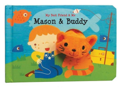 Mason & Buddy (My Best Friend & Me) [Board book]