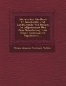 Liter Risches Handbuch Fur Geschichte Und Landeskunde Von Hessen Im Allgemeinen Und Dem Grossherzogthum Hessen Insbesondere