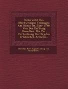 Uebersicht Des Merkw Rdigen Feldzuges Am Rhein Im Jahr 1796