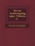 Revue Anthropologique, Volume 3... [FRE]