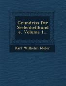 Grundriss Der Seelenheilkunde, Volume 1... [GER]