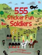555 Sticker Fun Soldiers