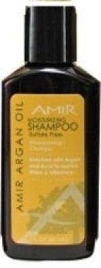Amir Argan Oil Sulphate Free Moisturising Shampoo, 60ml