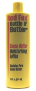 Red Fox Bottle O'Butter Cocoa Butter Lotion 470ml (3-Pack) with Free Nail File