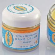 """Brigit True Organics- Deeply Nourishing Hand Cream """"Orange"""", 45ml"""