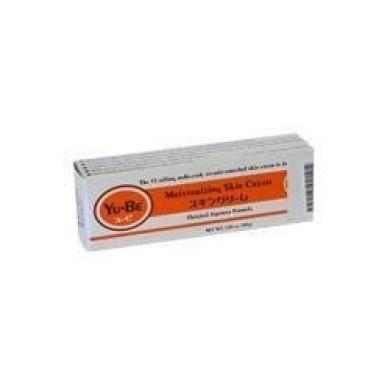 Yu-Be Moisturising Skin Cream, 35ml, THREE Tubes