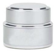 Nail Art Acrylic Dappen Dish/Liquid/Powder Container Silver