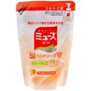 Earth Seiyaku Muse   Hand Soap   Bubble Hand Soap W Fruity Fresh Refill 200ml