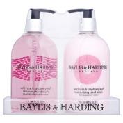 Baylis & Harding Wild Rose & Raspberry Leaf Hand wash & Hand Lotion Set
