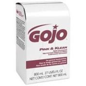 PT# 9128-12 PT# # 9128-12- Cleanser Skin Pink & Klean 800mL Gentle Bag In Box 12/Ca by, Gojo Industries Inc
