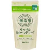 Miyoshi Soap | Hand Wash | Additive Free Soap Bubble Hand Soap Refill 220ml