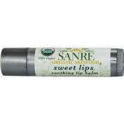 SanRe Organic Skinfood - Sweet Lips - 100% USDA Organic Lip Moisturiser For All Skin Types