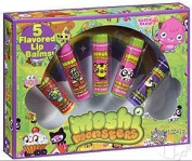 Moshi Monsters Flavoured Lip Balm Set - 5 Piece