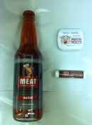 Meat Maniac Bacon Flavoured Soda, Bacon Mints & Bacon Lip Balm- Triple Sampler Gift Pack