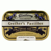 Blueberry Sugar Free 110ml by Grether's Pastilles