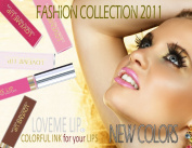 LoveMe Lip Colourful Ink for Your Lips KIT (Colour, Moisturising Gloss, Remover) - PINK CRYSTAL