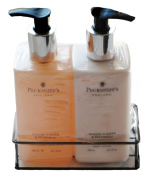 Pecksniff's Hand Wash and Body Lotion Set with Free 10.2cm 1